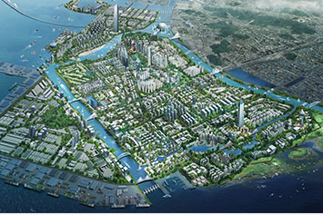 Songdo Waterfront Project